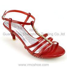 RMC High quality diamond women high heel shoes
