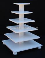 Adjustable 6 tier cupcake display stand