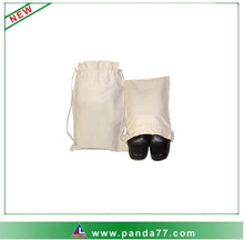 Small cotton drawstring shoe bags wholesale