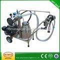 Design contemporâneo de leite de máquina de secagem, vaca/ovinos/cabra máquina de ordenha