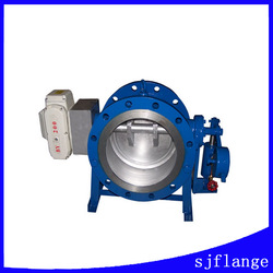 cast iron/ductile iron butterfly check valve pn10/pn16