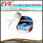 PTFE teflon insulation silver plated copper wire