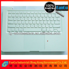 Wholesale Laptop keyboard for apple macbook a1342 with c sheel white uk layout -shenzhen factory