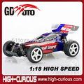 الساخن المنتجات عالية السرعة 1:18 السيارات اللاسلكية السيطرة rc