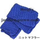 Blue acrylic scraf/shawl