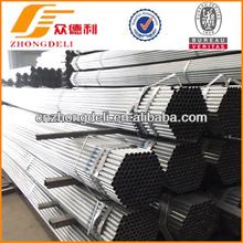 Tianjin Zhongdeli galvanized gi steel pipe for construction