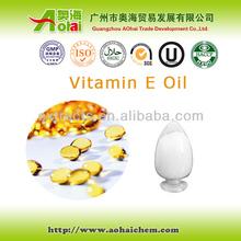 Natural vitamina e óleo