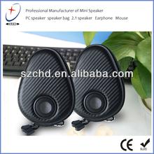 Cables Unlimited Audio MP3 Speaker - 3Watt amp, 3.5mm cord, case