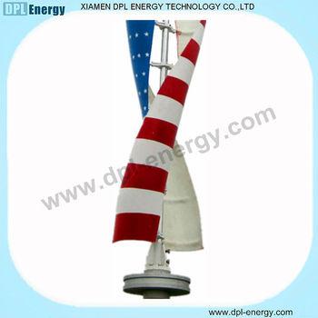 1kw vertical axis wind solar hybrid turbine/ vertical axis wind turbine kit