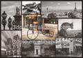 clássico 3d imagem cenário europeu da paisagem da cidade