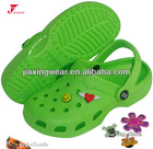 Children beach garden EVA Clog,Ventilation holes accommodated charms