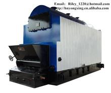 ISO DZL Horizontal Coal or Wood Fired Steam Boiler