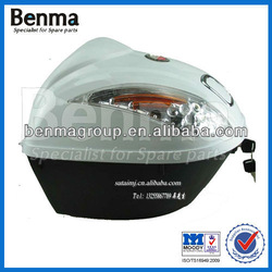 Top Quality Top Box Motorcycle ,Pastic Top Box for Motorcycle ,White Top Box Motorcycle Price Good !