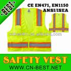 ANSI Surveyor yellow Reflective safety Clothing Safety Vest