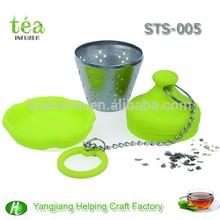 leaf shape tea bag holder filter, tea tool