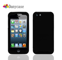 Excellent Handmade Kickstand Mobile Phone Case For Iphone 5c shell With Card Slot Holder black color
