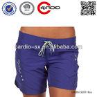 Practical and comfortable girls swimwear Women's ocean blue Honolulu Board Shorts hot girls board shorts