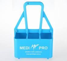 Plastic grid beer/wine/beverage/6 water bottle holds carrier