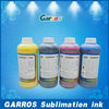 High quality and zero harm !Garros sublimation ink for Epson/Mimaki/Roland/Mutoh