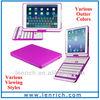 LBK156 Ex-factory Best-seller 360 degree rotation wireless bluetooth keyboard for ipad mini 2