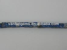 6mm liscia cubo di pietra perline lapis lazuli