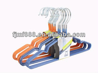 Non-slip metal Wire doll clothes hangers wholesale