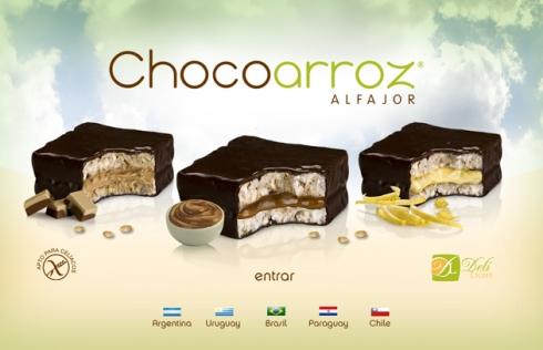 Light Alfajor Chocoarroz