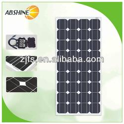 New 100 Watt 18v Monocrystalline Solar Panel 100W