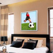 Soccer Digital Printed on Canvas