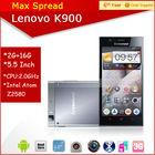 Lenovo k900 2mp 13mp dual camera android 4.2 lenovo 2013 new smartphone