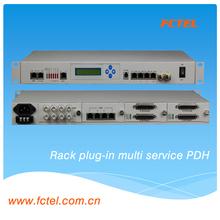 Managed Gigabit PDH multiplexer ,10/100/1000M LAN + E1 PDH ,snmp+web+telnet+console
