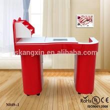 Nail salon table/portable nail table/salon nail technician tables for sale KZM-N049-1
