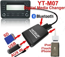 Car audio USB/SD/IPOD/IPHONE/AUX IN Phone call hand free kit>Yatour Digital Media Changer YT-M07