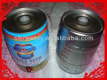 5l tinplate beer keg for sale