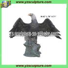 Outdoor bronze eagle sculpture BAS-T063AL