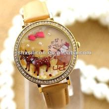 Korea Brand new Mini 3D Watch, Quartz Watches New, women wrist watch