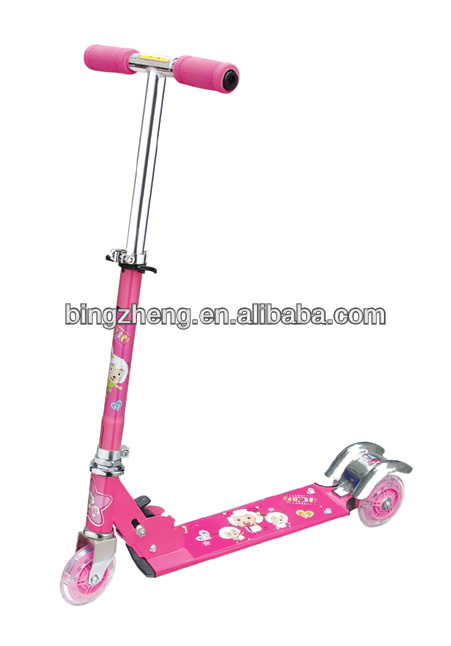 BINGZHENG 2013 new 3 wheeled scooter/ kids scooter/kids mini scooter for sale BW-302-B(CE approved)
