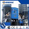 popular sale Liugong mobile concrete mixing plant HZS90 90m3/h