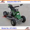 Mini ATV Gasoline Mini Cross Quad 49cc 2 stroke 4 wheels Pull Start ATV-M03
