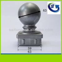 GOOD quality Cast aluminium fence post ball tops,aluminum ball cap