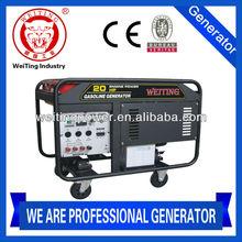 WTQF10SD 20hp gasoline price of 12kva generator with CE/SONCAP