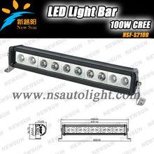 "Auto lighting system led light bar used lightbars 100w 19"" car led light bar for SUV J eep off road Truck ATV"