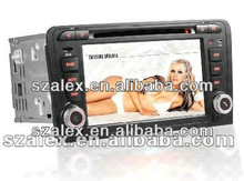 China CAR DVD GPS FACTORY cheap car dvd player 2 Din for Audi A3