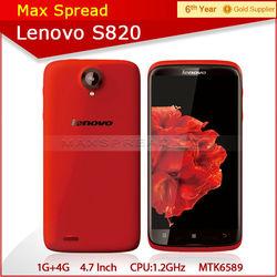 4.7inch dual sim lenovo s820 quad core lenovo 3g smartphone