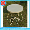 Livingroom use round tabletop metal small table