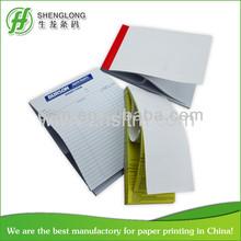 color printing duplicate carbonless docket book