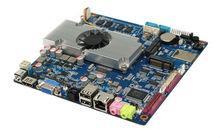 High Performance atom D2550 motherboard mini itx,firewall main board with 6*COM