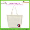 New Fashion Plain Canvas Custom Hand Made Ladies Cheap Tote Bag
