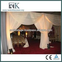 Wholesale Portable Lighted Wedding Backdrop Drapery