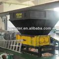 resíduos recicláveis couro couro triturador